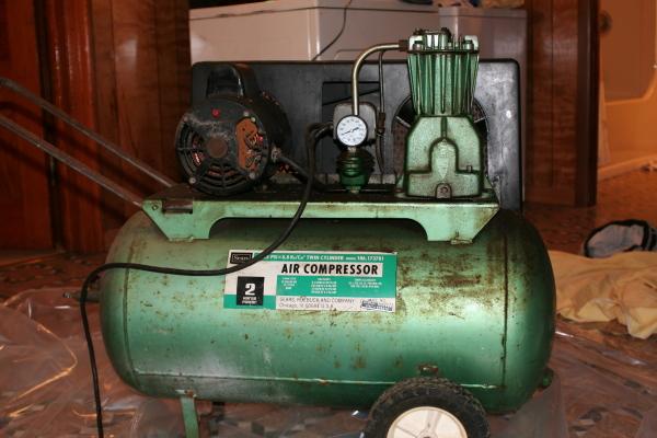 Vintage Campbell Hausfeld Air Compressor : Vwvortex best type of air compressor